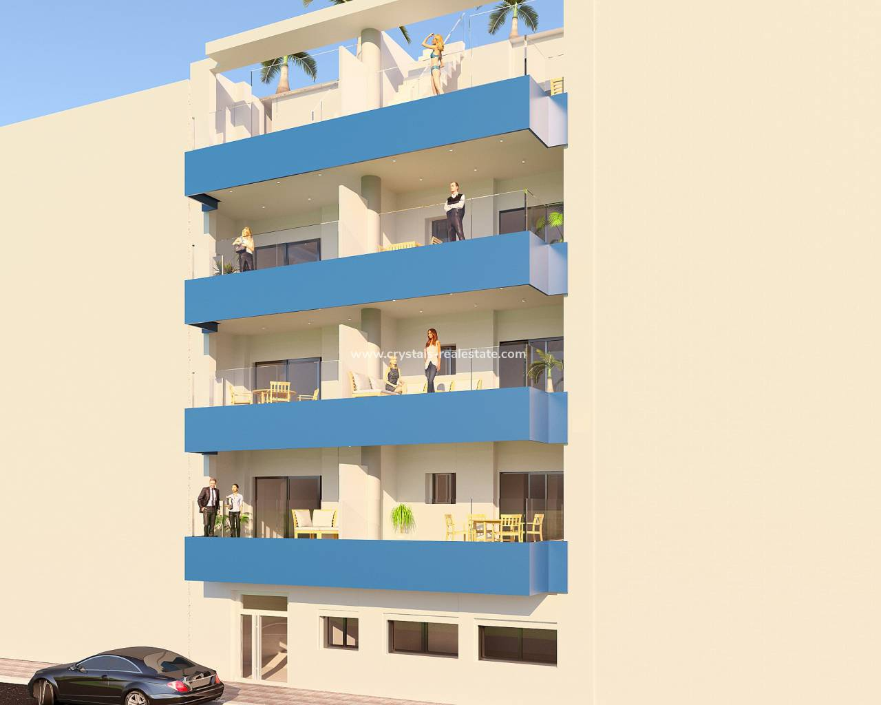 Appartement - New Build - Torrevieja - Torrevieja