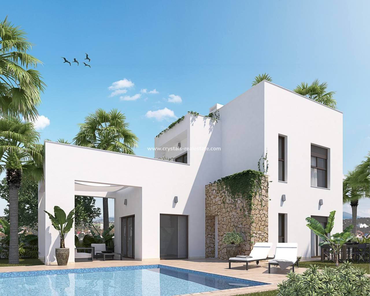 Detached Villa - New Build - Torrevieja - Nueva Torrevieja - Aguas Nuevas
