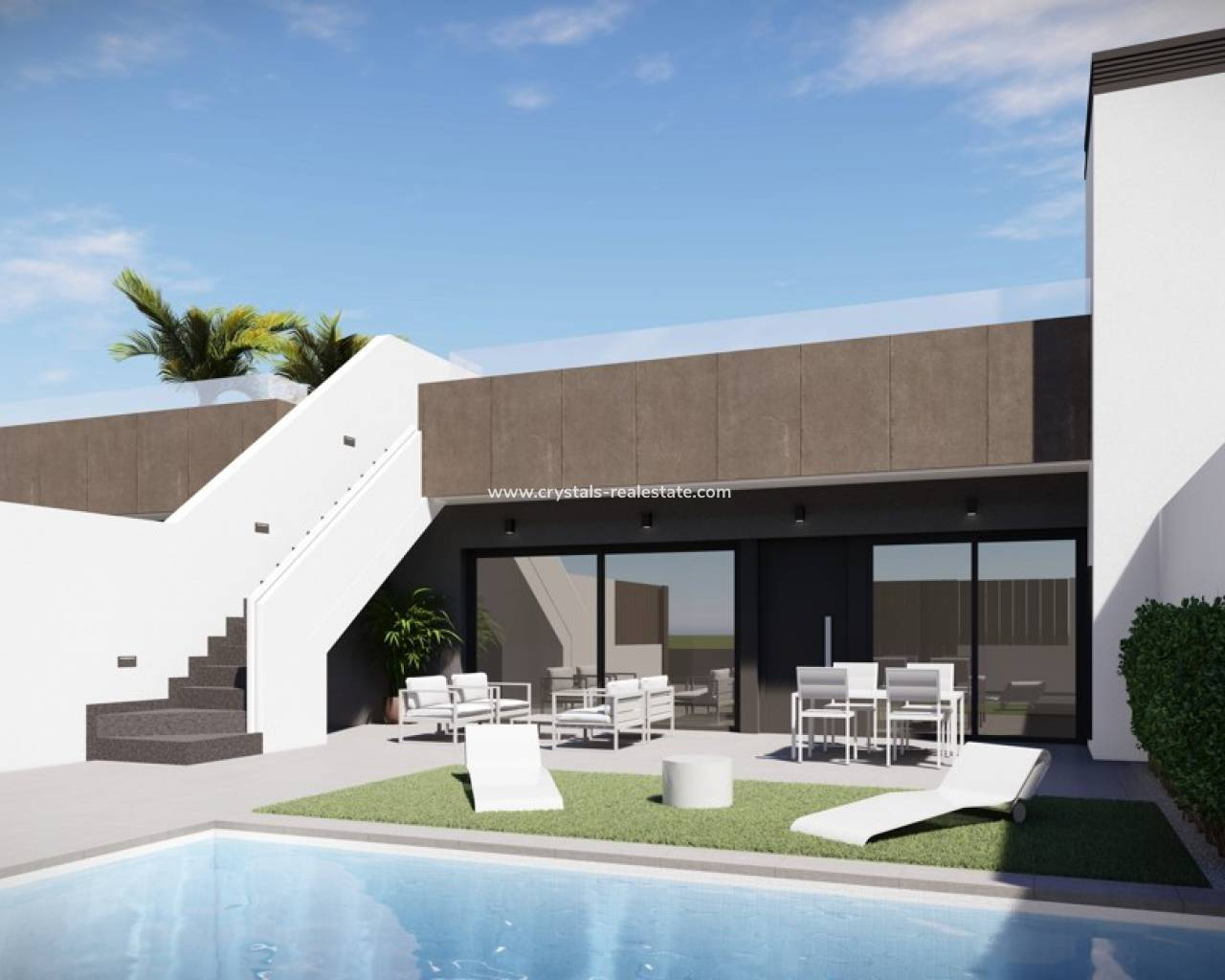 Semi Detached - New Build - La Manga del Mar Menor - La Manga del Mar Menor