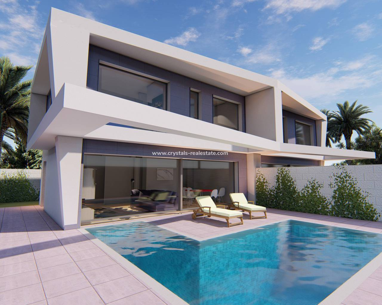 Villa / Semi detached - New Build - Gran Alacant - Gran Alacant